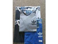 Adidas, Ralph Lauren, Levi's and Tommy Hilfiger t-shirts