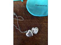 Stunning silver genuine Tiffany locket