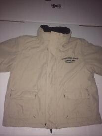 Timberland jacket and t-shirt
