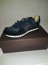 Valentino rock runners blue camo sneakers
