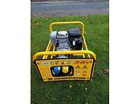 Honda powered 4 stroke professional petrol generator amazing condition