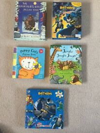 Selection of preschool jigsaw / puzzle picture books