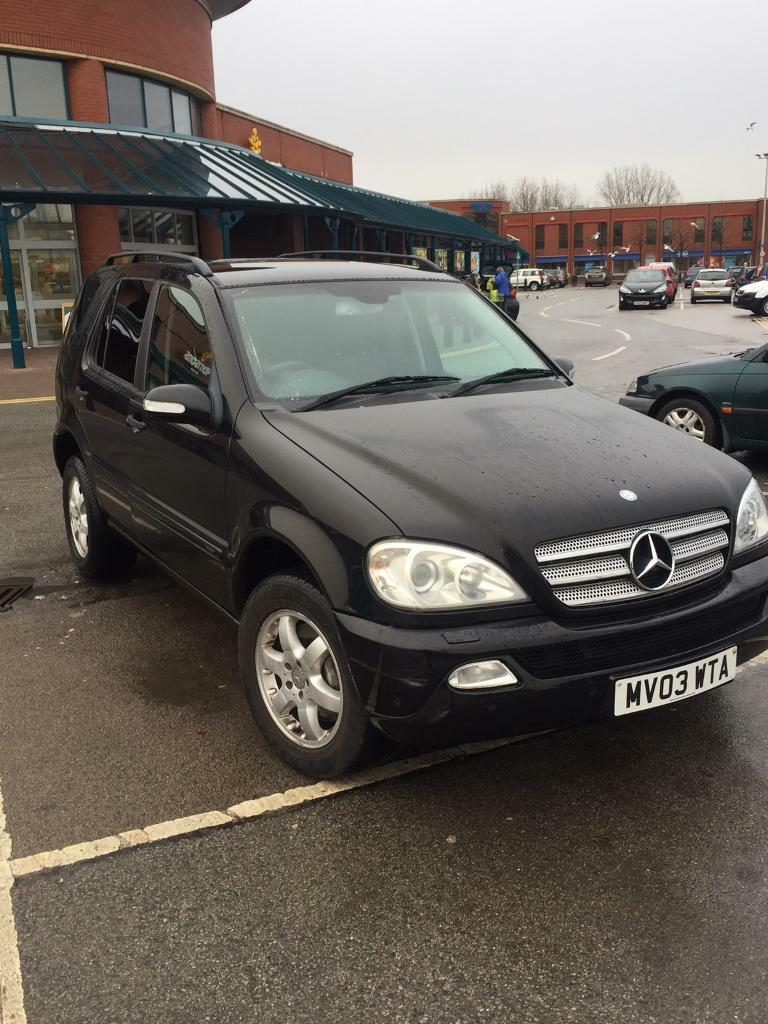 2003 03 mercedes merc 270 cdi jeep diesel in leeds city centre