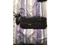 Attention!!! Perfect condition cheap keyboard and mouse set!!