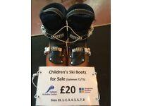 Salomon Children's Ski Boots for sale Only £20!
