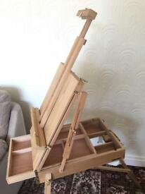 Professional drawing and painting easel