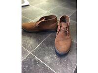 Men's top man sand colour shoes