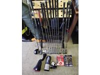 Mizuno jpx850 irons and complete golf set up