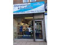 Alteration and dry cleaning business for sale