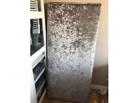 Velvet Double bed head board (from Next)