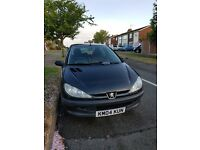 2004 Peugeot 206 1.1 Petrol Manual Black