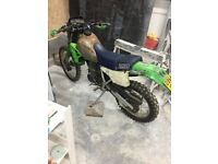 Motocross bike 250cc