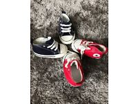 *CONVERSE Unisex-Baby First Star Cvs Trainers - SIZE 2*