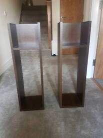 X2 solid shelves