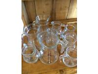 Glass jugs ideal for cafe/B&B