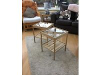 2 Contemporary IKEA Bedside Tables / Side Tables