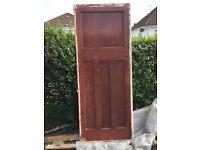 original internal doors from a 30's bungalow
