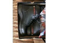 Safety work boots size 11 men's