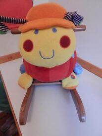 Mamas and Papas Ladybird rocking chair (Lotty )