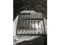 The Behringer XENYX 1202FX Premium 12-Input 2-Bus Mixer