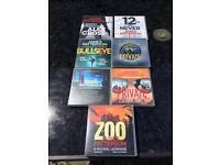 JAMES PATTERSON audio books 7 no (cd format)