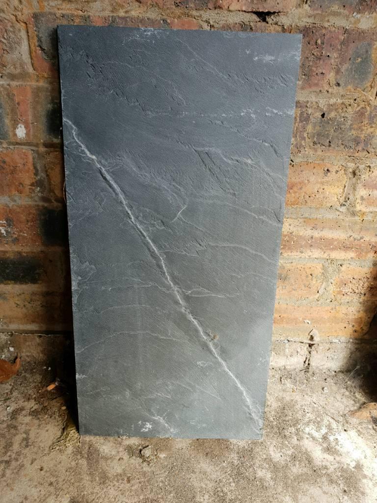 Black Chinese Slate Floor Tiles X12 In Livingston West Lothian