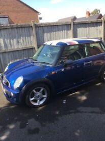 Mini one 2004 union jack
