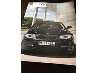 Genuine BMW one series handbook