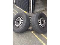 Bargain Mercedes sprinter tires wheel