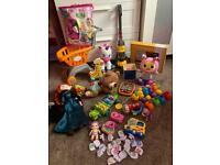 Large Baby/Kids/Children musical/soft/light up toys bundle