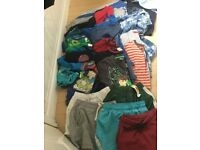 Boys Clothes Bundle Tops PJ's 5 6 yrs with some 6 7 yrs CAN POST