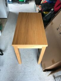IKEA BJURSTA Dining Extendable Table & 2x KAUSTBY Chairs
