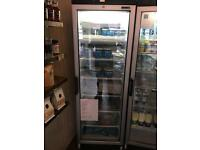 Tefcold glass fronted freezer. Excellent condition.