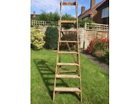 Wooden step ladder in used but sound condition