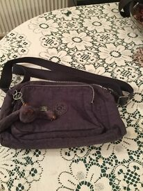 Kipling Reth woman's handbag. Blue in colour. Very good condition as hardly used.