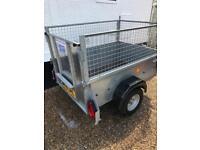 Ifor Williams car trailer 5ft x4ft ideal for gardener