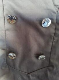 Excellent condition Karen Millen size 12 khaki green short sleeve dress