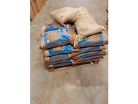 25 Bags of building sand