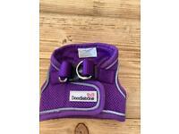 Doodlebone purple harness xs