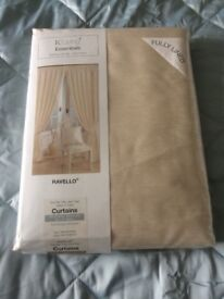 Curtains Brand New Champagne Lined Curtains