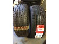 2x 185 55 15 Michelin three A tyres brand new free fitting