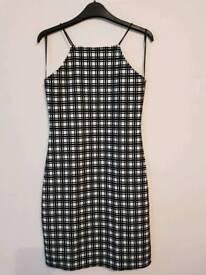Ladies Strappy Bodycon Dress size 8