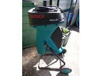 Bosch Garden shredder in good working condition