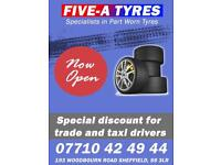 Five A Tyres - Top new and part worn tyres at cheap prices