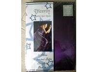 Luxury purple satin duvet set (double)