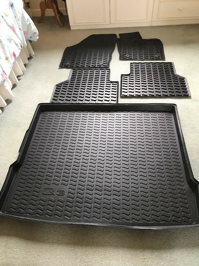 Audi Q3 Genuine Rubber Mats Amp Boot Liner In Whitefield