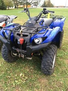 2007 Yamaha Grizzly 700 FI Auto. 4x4 London Ontario image 1