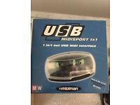 M-Audio Midisport 1x1 USB MIDI Interface