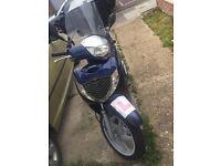 HONDA SHi 07 plate with New Engine practically new everything £900.00