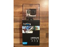GoPro HERO4 BLACK with Accessories In New Condition